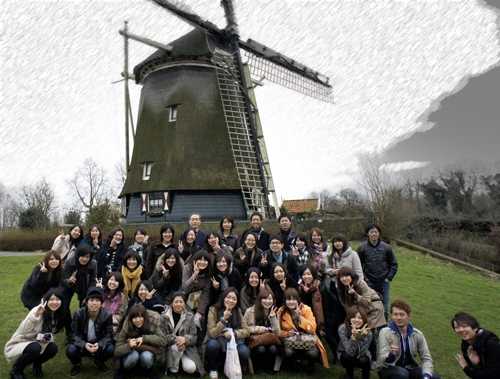 Rembrandt windmill Amsterdam. Best of Holland Tours