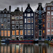Amsterdam old harbour